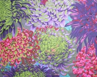 Japanese Chrysanthemum Floral Flower Fall 2015 Philip Jacobs Rowan Fabric Yard