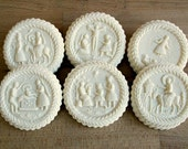 6 Image Life of Christ Cookie or Confection Mold