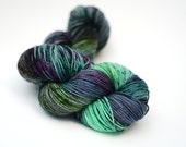 Superwash Merino Sock Yarn- Kettle Dyed - 100g