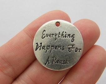 4 Everything happens for a reason charms M655