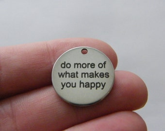 do more of what makes you happy card encouragement card. Black Bedroom Furniture Sets. Home Design Ideas