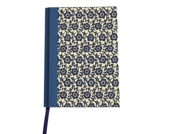 Academic Planner 2017-2018, bold floral blue day planner, college student planner