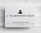 Print Your Own Thanksgiving Invitation
