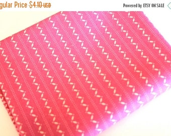 SuperBowl Sale Ansonia from Denyse Schmidt, Fine Stripe Magenta, 1/2 yard total