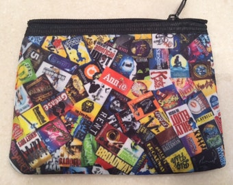 Broadway Zipper Wallet Pouch Purse