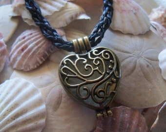 My Mermaids Heart Necklace