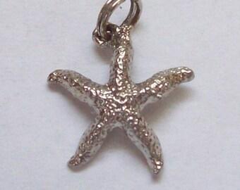 Starfish Sterling Silver Charm