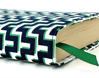 """Paperback book cover for MASS MARKET books - Fits smaller books measuring approximately 4.125"""" wide x 6.75"""" tall - Maze"""