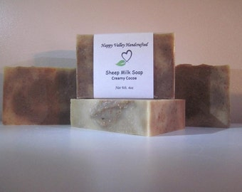 Creamy Cocoa Sheep Milk Soap