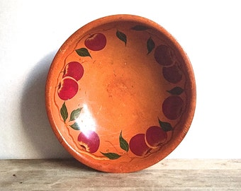 Munising Footed Apple Bowl