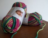 Cotton Soft Silk Yarn by Deborah Norville, Watermelon, Cotton Silk Yarn, Knitting Crochet Supplies