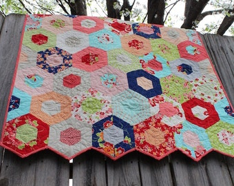 Custom Baby Quilt / Baby Quilts / Girl Quilts / Crib Bedding / Nursery / MADE TO ORDER