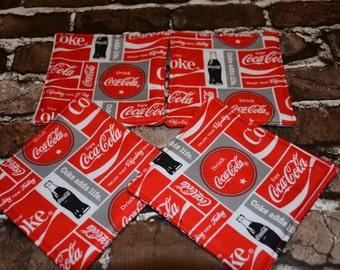 Coca-cola Coaster Set