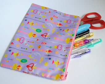 Sailor Moon Pencil/Cosmetic Zipper Bag
