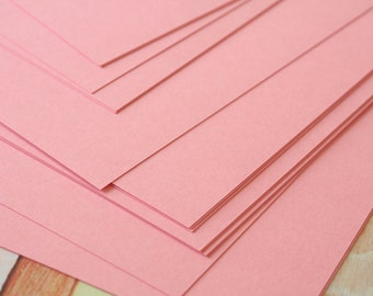 BUBBLEGUM Pink Craft Style Colour Card Stock 260gsm 95lb cover