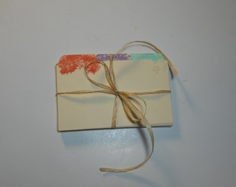 """Recipe Box Divider Cards 3x5"""" hand painted.  Also available in 4 x 6"""""""