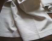 Reserved for Jennifer: Fab unused French country linen sheet.  Great tablecloth, curtain or blind fabric.