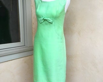 1960s Jackie O Dress Custom Made Summer Dress