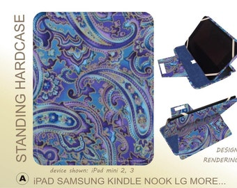 purple Paisley ipad case iPad Pro 9.7 iPad Mini 3 iPad Mini 4 iPad Air 2 iPad 4 iPad Pro 9.7 iPad Mini 3 iPad Mini 4 iPad Air 2 iPad 4