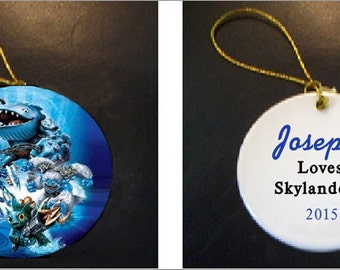 The Skylanders Christmas Ornament PERSONALIZED