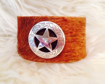 Shining Star Leather Band
