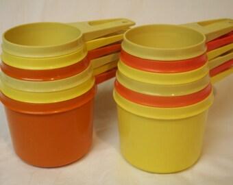 Tupperware Measuring Cups Set of 6  Multicolor
