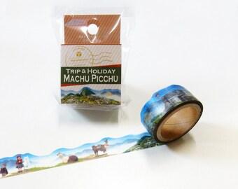 Machu Picchu (Peru) trip Yano design summer 2016 washi tape 20mm x 5M
