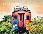 Trains, Train Wall Decor, Train Photo, Train Home Decor, Train Wall Art, Abandoned Train Photography, Train Print, Train Poster, Train Wall