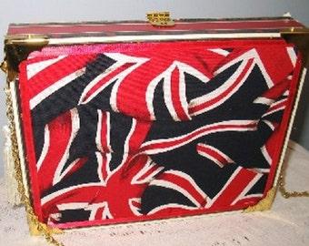 British Flag England Cigar Box Purse