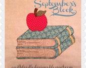 My Favorite Things Quilt Doodle Designs September's Block 2015