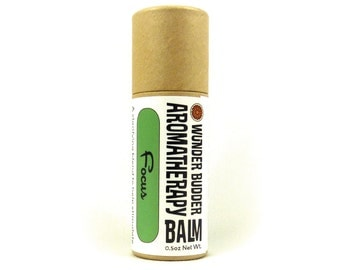 Focus Aromatherapy Balm for Concentration