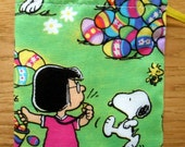 Party Favor Bag - Snoopy - Lucy - Gifts - Goodies - Easter