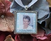 Bridal Charm, Custom Photo Charm, Bridal Bouquet Charm, Memorial Photo Charm, Something Blue, In Loving Memory, Wedding Charm