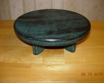 "8"" Primitive Round Candle/ Table Riser"