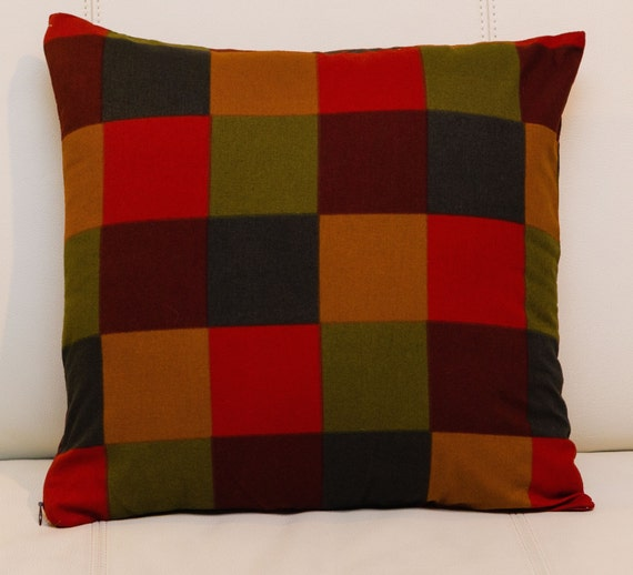 24x24 Marimekko Throw Pillow cover Handmade.