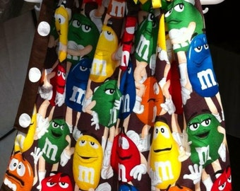 Custom Boutique handmade M&M Candy Pillowcase Dress
