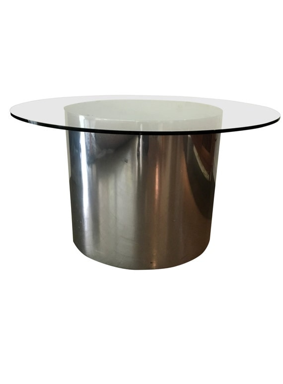 Mod Steel Drum Coffee Table By Marzmum On Etsy