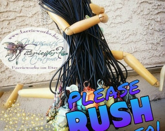 RUSH ORDER ~ faster lead time ~ Wings By specified Date