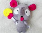 Little Elephant with lollipop