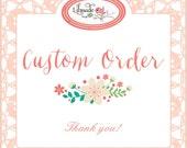 Custom listing - Thank you!