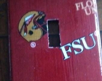 Seminoles FSU Single Toggle Light Switch Plate Cover