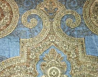 Transitional Damask Upholstery Decorators Fabric
