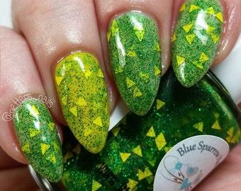 Green Bay Packers Cheese-head Nail Polish #70