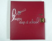 "ON SALE  Vintage 1950's/1960's  Gibson Memory Book  ""Happy Days At School""  Unused w/Key"