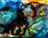 Abstract Floral Original Art