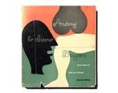 "Alvin Lustig book jacket design, 1954. ""Anatomy for Interior Designers, Second Edition"" by Francis de N. Schroeder"