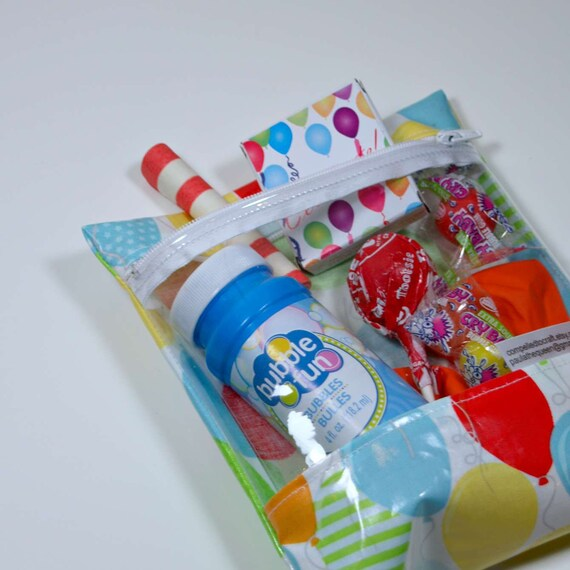 First Birthday Boy Party Loot Bag Single: Birthday Loot Goody Bags Birthday Favor Sack Goodies Lolly