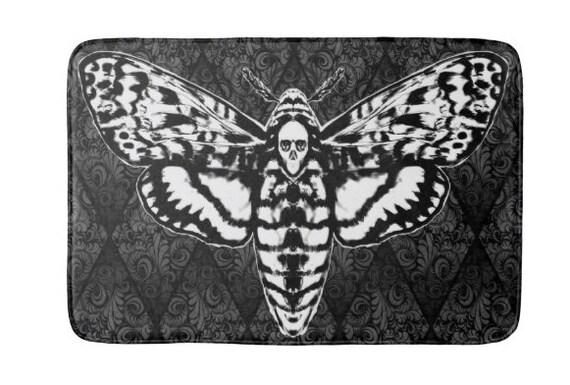 Death Head Moth Bath Mat
