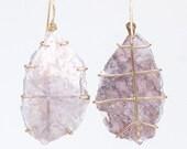 Lepidolite Prong Earrings