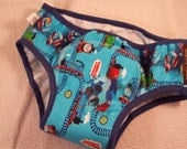 PREMIUM - NEW COLOR Toddler Boy's Training Underwear with Waterproof Pad - Thomas Train 3038